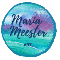 Maria Meester Paintings - Unique abstract paintings